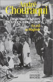 Histoire des juifs en Afrique du Nord Tome 1