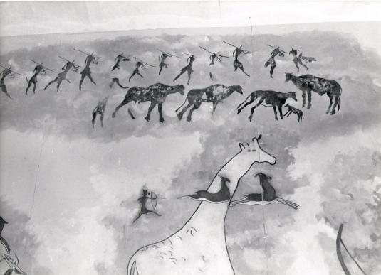 Peintures rupestres Tassili