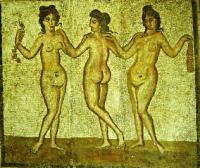 Mosaïque romaine de Cherchell en Algérie