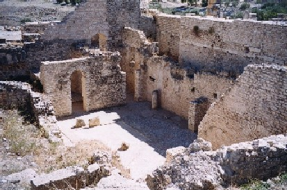 Thermes romano-africains de Dougga en Tunisie