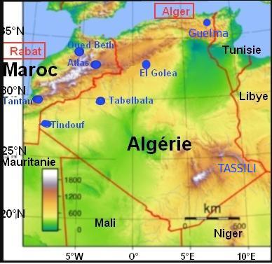 Atlas et Tassili