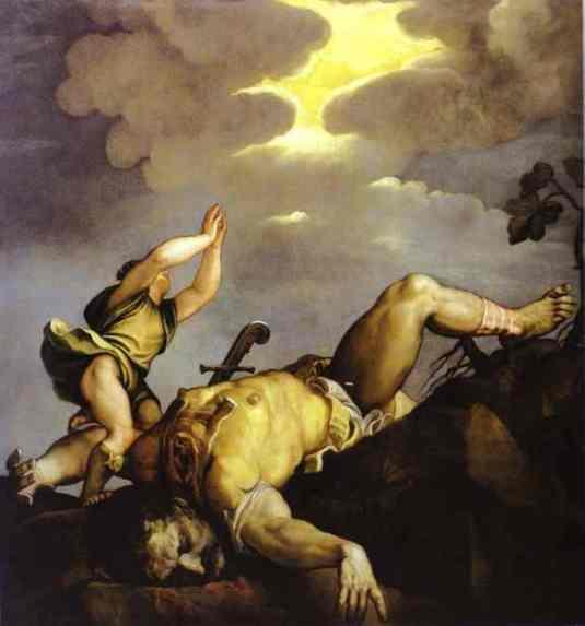 David et Goliath Le Titien