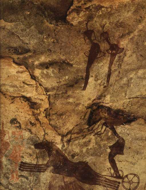 Fresque équidienne (Tamadjert)
