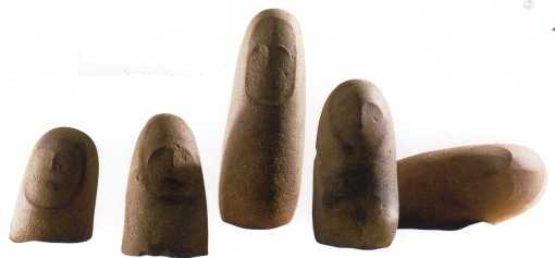 Idoles à têtes de chouette (Tabarbalet)