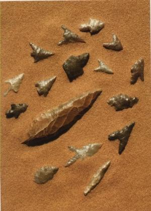 Pierre taillée néolithique saharien