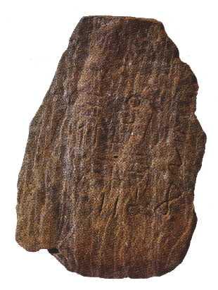 Stèle libyque écriture néolithique supérieur