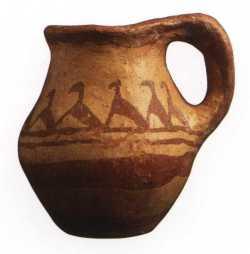 Vase à anse (Tiddis)