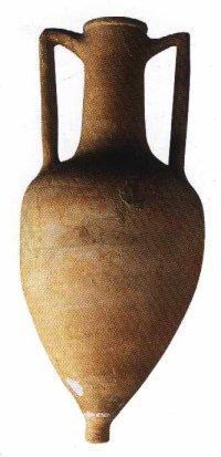 Amphore de Rhodes trouvée dans la Souma el Khroub