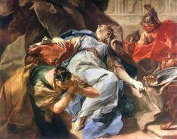 La mort de Sophonisbé