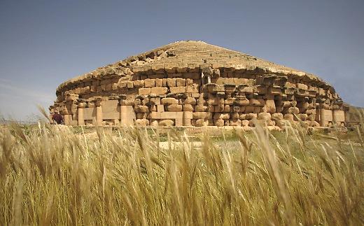 Medracen entre Batna et Aïn Kercha