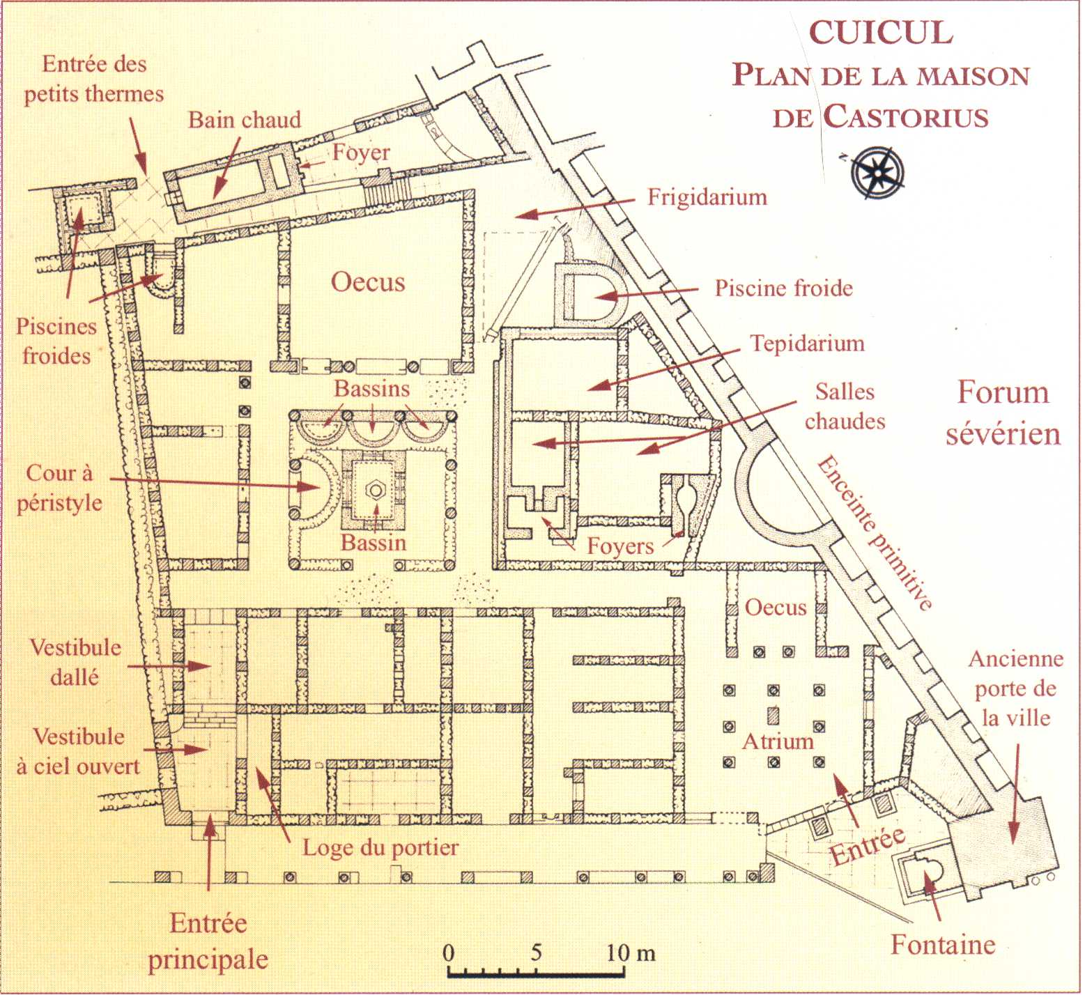 Timgad jahiliyya ignorance ou tr sor for Plan de maison africaine