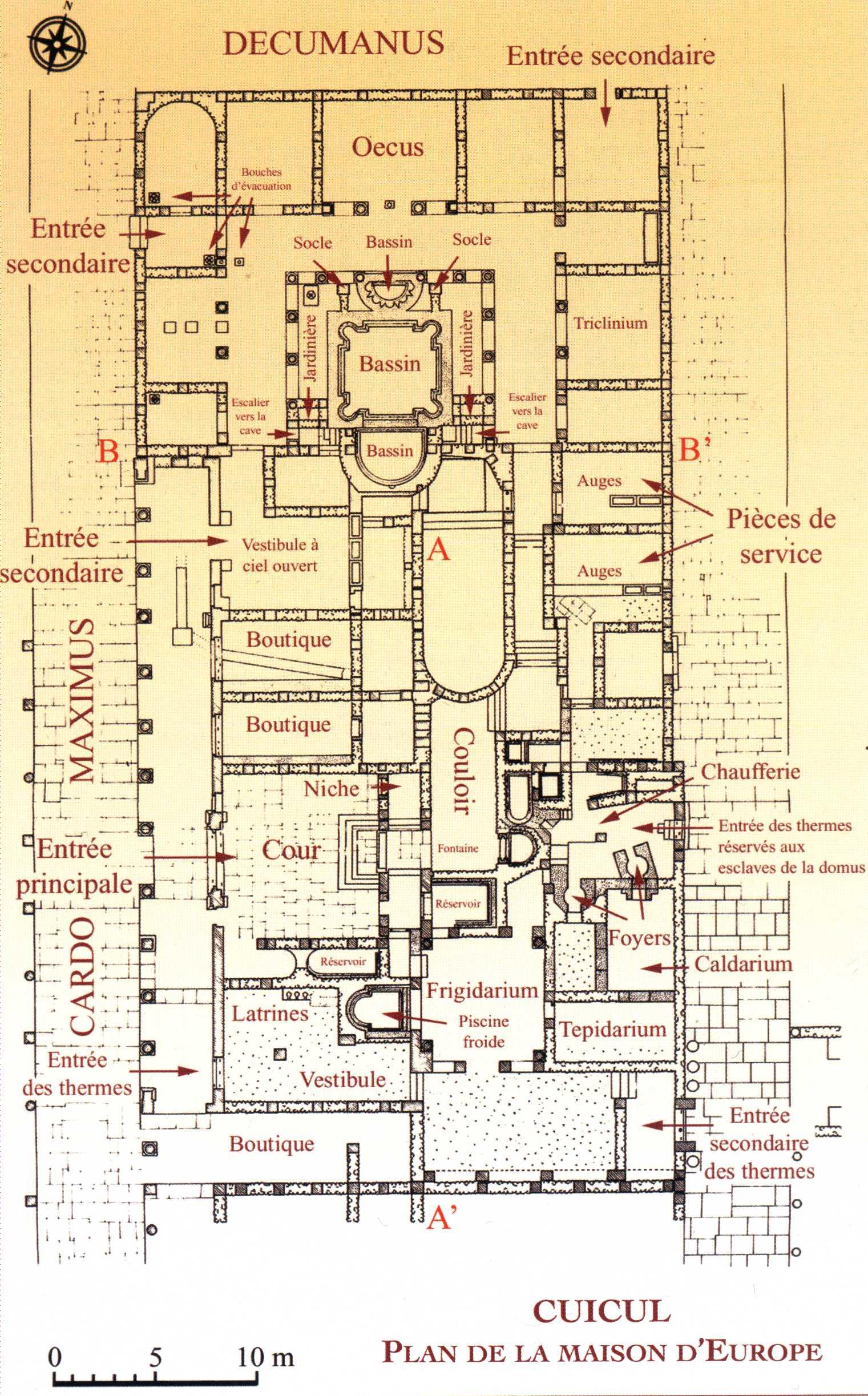Plan de villa africaine for Plan de maison africaine